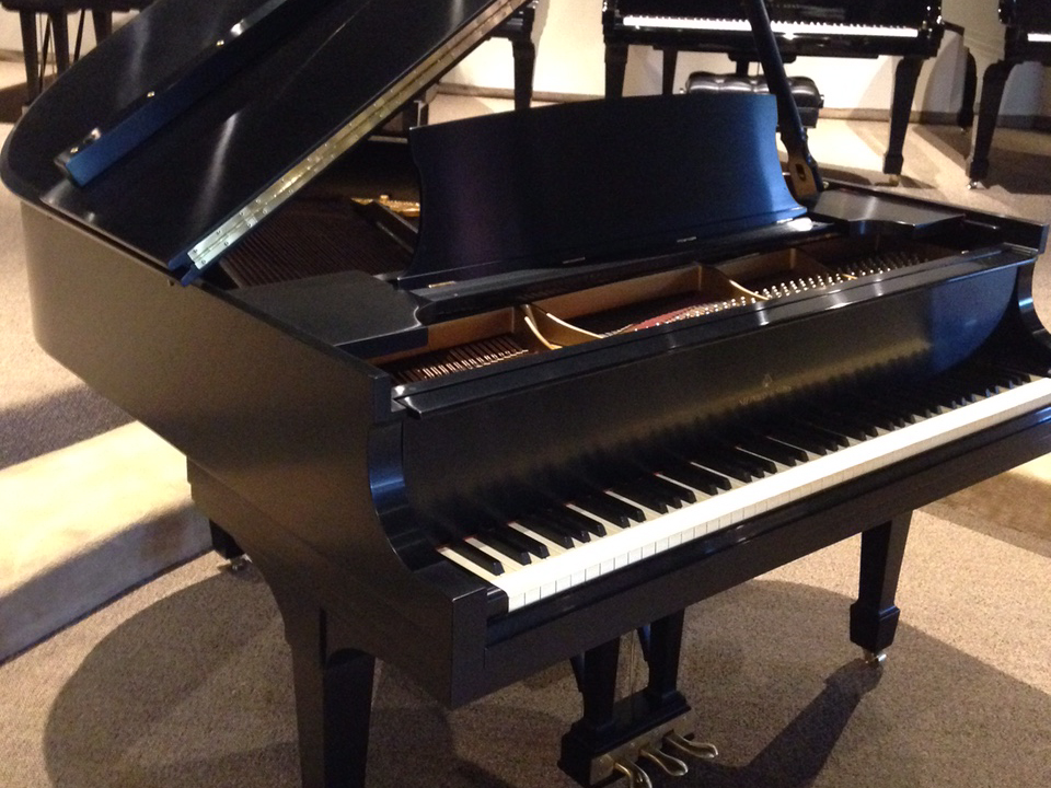 Pianos for sale used piano showroom dallas fort for Baby grand piano height