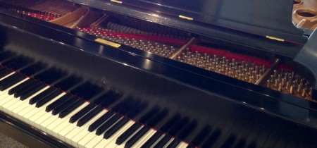 1915 Heirloom Steinway Model M in Ebony Satin