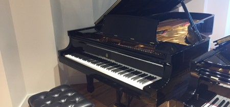 Pre-Owned Steinway Model D Concert Grand in Ebony Polish