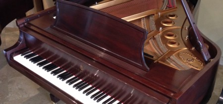 2001 Pre-Owned Steinway Model L in Mahogany Satin Lustre