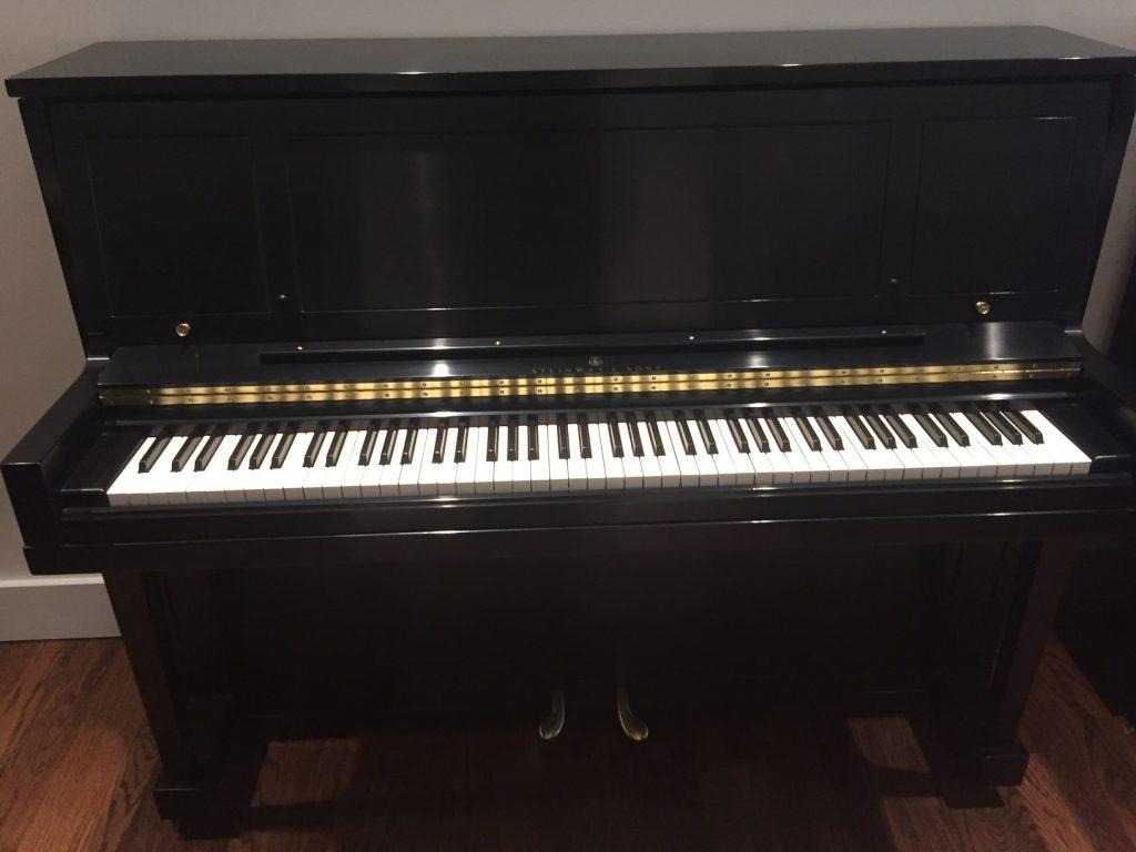 1964 Used Steinway 1098 Studio Upright Piano Used Piano Showroom Dallas Fort Worth Plano