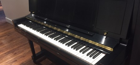 1964 Used Steinway 1098 Studio Upright Piano